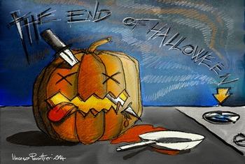When finish Halloween...
