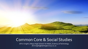 Common Core & Social Studies