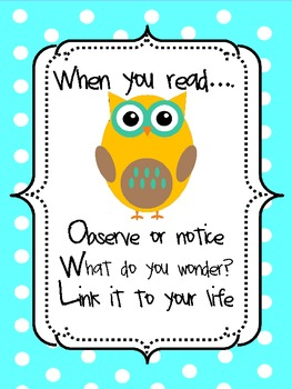 When you read...OWL