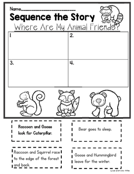 Where Are My Animal Friends? Sequencing