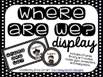 Where Are We? Display