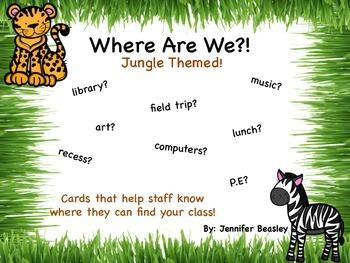 Where Are We--Jungle Theme