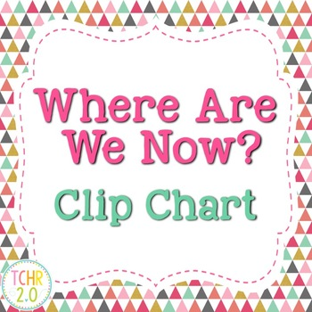 Where Are We Now Clip Chart Multi Geometric