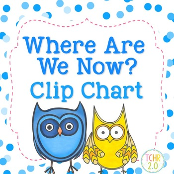 Where Are We Now Clip Chart Owls
