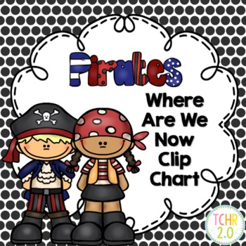 Pirate Where Are We Now Clip Chart
