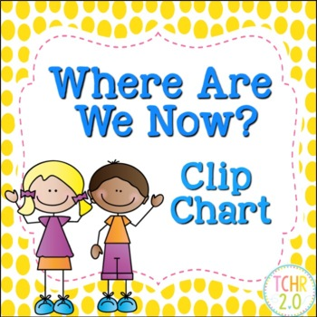 Where Are We Now Clip Chart Scrappy Kids Big Dots