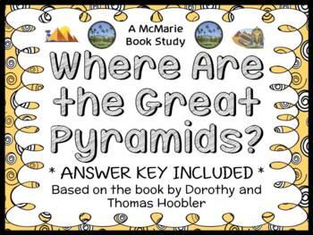 Where Are the Great Pyramids? (Hoobler) Book Study / Readi