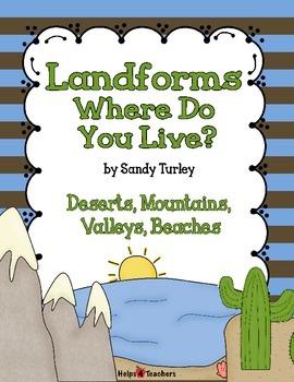 Landforms:  Where Do you Live?