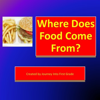 Where Does Food Come From (Journeys Common Core Reading Series)