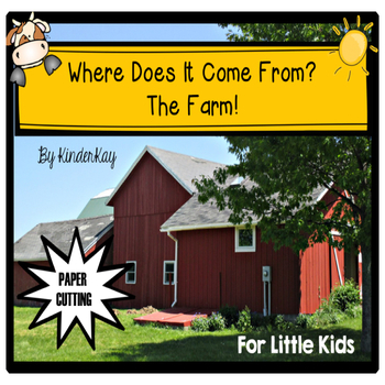 Where Does It Come From? The Farm! Let's Make a Book