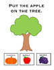 Where Does It Go In Fall? Manipulative adapted  and intera