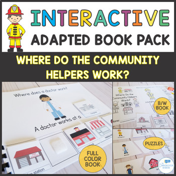 Where Questions - Interactive Adapted Book and Activity Pa
