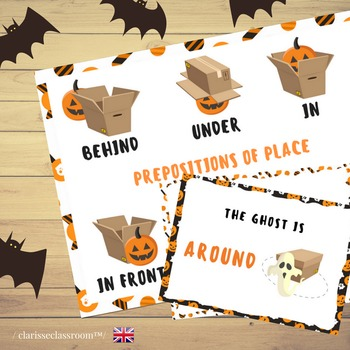 Where are the Halloween Monsters? Prepositions of Place: P