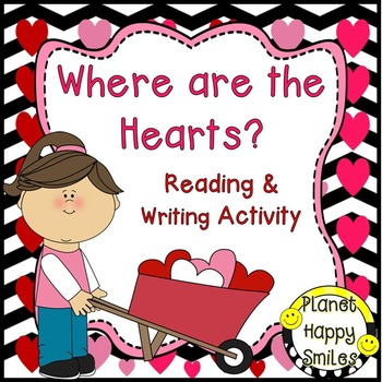 Valentine Reader ~ Where are the Hearts? ~ Reading & Writi