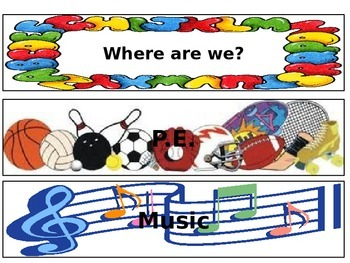 Where are we? Clip Chart