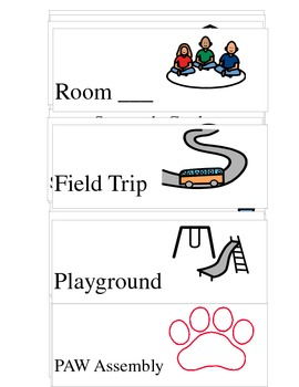 Where are we cards (board maker symbols)