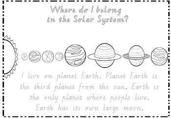 Where do I belong in the Solar System?