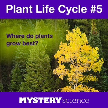 Plant Life Cycle NGSS:Plant Habitats ❤ BUNDLE:Activity, Re