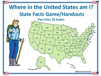 Where in the United States am I? A Facts-Based States Game