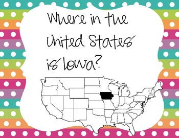 Where in the United States is Iowa?