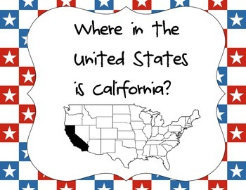 Where in the United states is California?