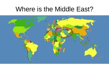 Where in the World - GPS Middle East Geography Features -