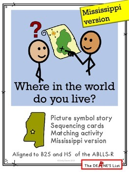 Where in the world do you live? Mississipppi version