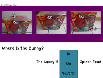 Where is Bunny: Powerpoint Prepositions