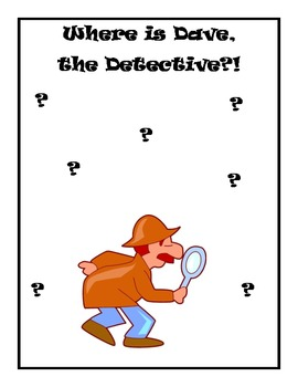 Where is Dave, the Detective? An Interactive Reading Activity!