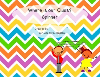 Where is Our Class Spinner