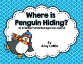 Where is Penguin Hiding?  A Numeral Recognition Game