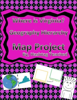Where is Virginia Geographic Hierarchy Map