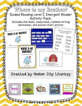 Where is my Brother?: Guided Reading Level C Emergent Read