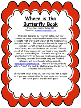 Where is the Butterfly - book of positional concepts