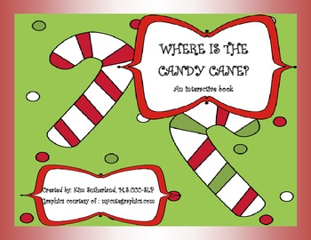 Where is the Candy Cane? An interactive book