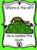 Where is the Elf? Emergent reader/Teacher Text/Pocket Chart Pack