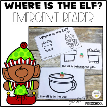 Where is the Elf? Emergent Reader