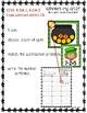 Where's My Gold Kindergarten Picture Subtraction St. Patri