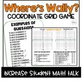 Where's Waldo? Coordinate Grid Game