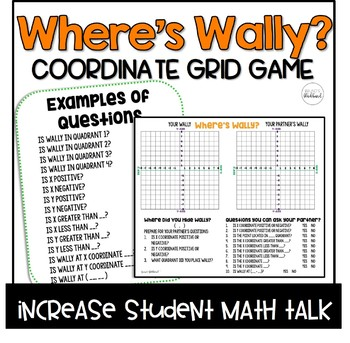 Where's Waldo? Coordinate Grid Game