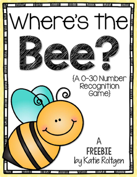 Where's the Bee? {0-30 Number Recognition}