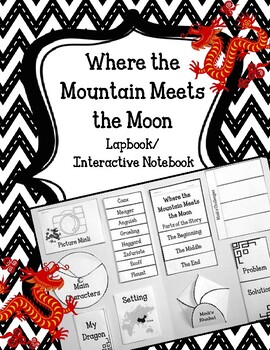 Where the Mountain Meets the Moon Lapbook.  Interactive No