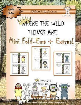 Where the Wild Things Are Mini Character Analysis Fold-Ems