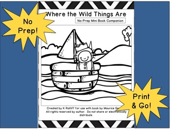 Where the Wild Things Are :  No Prep Book Companion