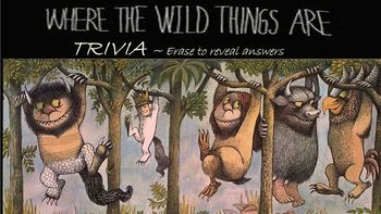 Where the Wild Things are Trivia