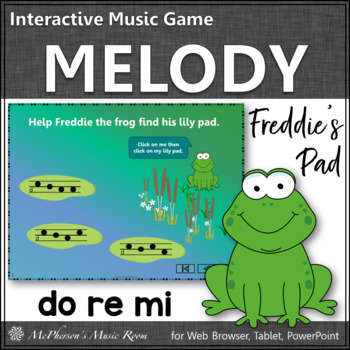 Where's Freddie's Pad? Melody Do Re Mi (PowerPoint)