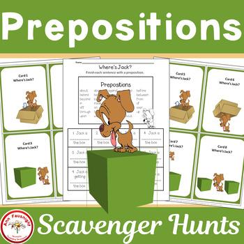 Where's Jack? A Prepositions Scavenger Hunt