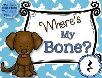 Where's My Bone?: Interactive Game and Manipulatives {Rest}