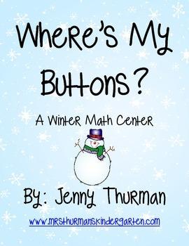 Where's My Buttons? A Winter Math Center