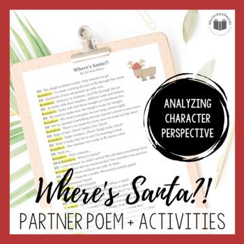 """""""Where's Santa?!"""" {A Seasonal Partner Poem}"""